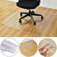 Прозрачные Нескользящие Rectang коврики для защиты пола прозрачные Нескользящие прямоугольные Коврики для пола для домашнего офиса кресло на колесиках