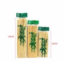 90 шт. бамбуковые одноразовые палочки для барбекю из натурального дерева, вечерние палочки для еды, крепкие Инструменты для барбекю на гриле