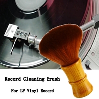 1PCS Pro 150mm Record Cleaning Brush Portable Super Clean Brush Anti static Record Dust Remover for LP Vinyl Record Accessories Turntables     -