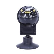 купить New Car Vehicle Floating Ball Magnetic Navigation Compass Black по цене 86.62 рублей