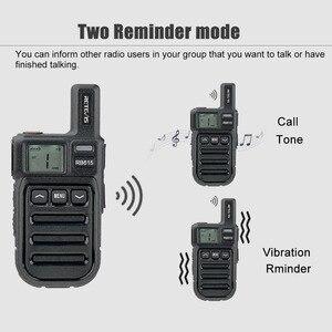 Image 2 - Vibration Reminder Retevis RB615 Mini PMR Walkie Talkie 2pcs PMR446 PMR Radio FRS VOX Handsfree Two way Radio Wireless Cloning