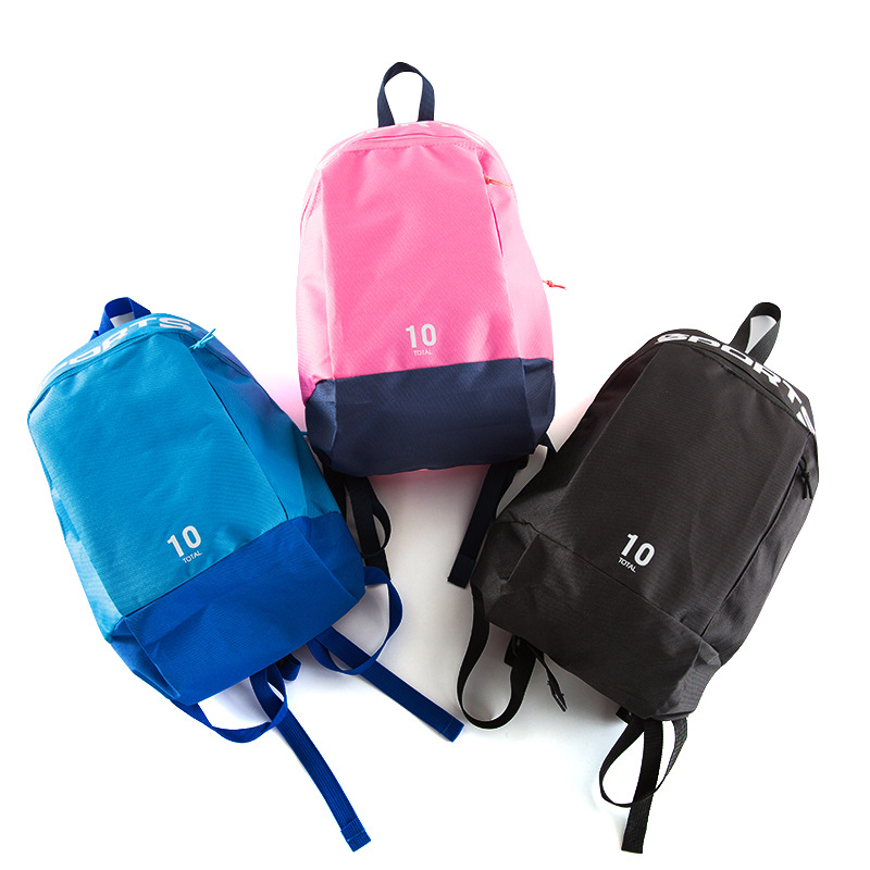 Miniso MINISO Celebrity Style Sports Small Backpack Mixed Colors Design Small Casual Portable Travel Bag Bag