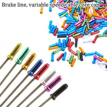 50Pcs Bike Bicycle Brake Shifter Inner Tips Shift Cables End Caps Cycling Parts image