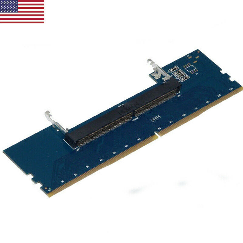 2019 Newest Fashion DDR4 Laptop SO-DIMM To Desktop DIMM Memory RAM Connector Adapter Converter