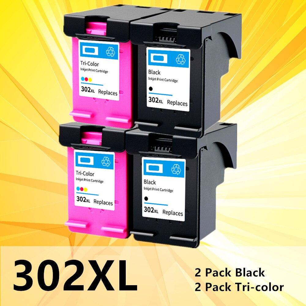 302XL Cartouche pour hp 302 XL hp302 HP302XL Cartouche D'ENCRE Pour imprimante Deskjet 1110 2130 1112 3630 4520 4250 3830 5220 5230 5232 imprimante