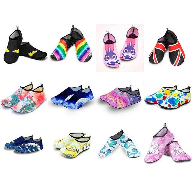 Plage natation Sport nautique chaussettes pieds nus Sneaker gymnase Yoga Fitness danse natation surf plongée plongée en apnée chaussures pour enfants hommes femmes