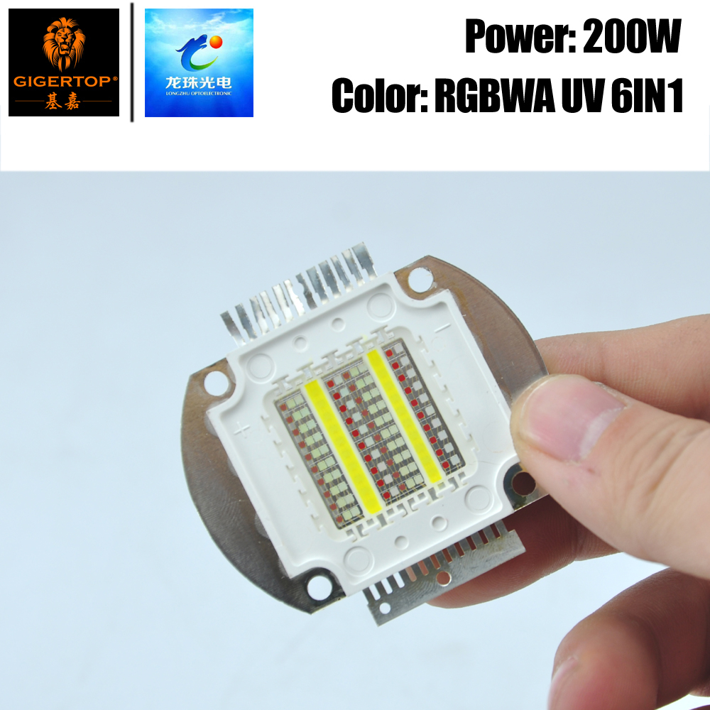 Freeshipping RGBWAP 6IN1 Color COB Led Lamp For Flood Spot Light Waterproof COB Par Cans Bulb 6 Color Leds China Supplier