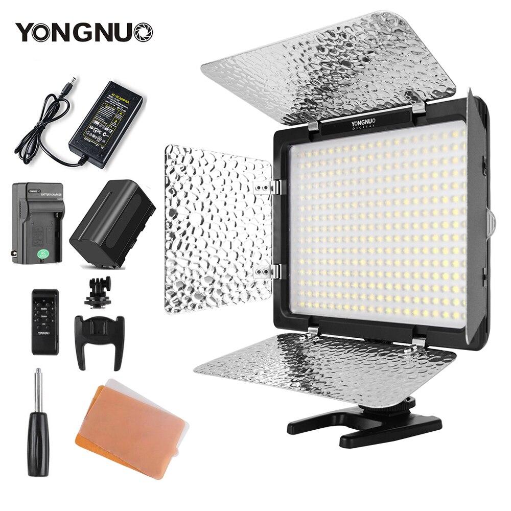 Yongnuo YN300 III YN300III 3200k-5500K CRI95 caméra Photo LED lumière vidéo en option avec adaptateur secteur + KIT de batterie NP770