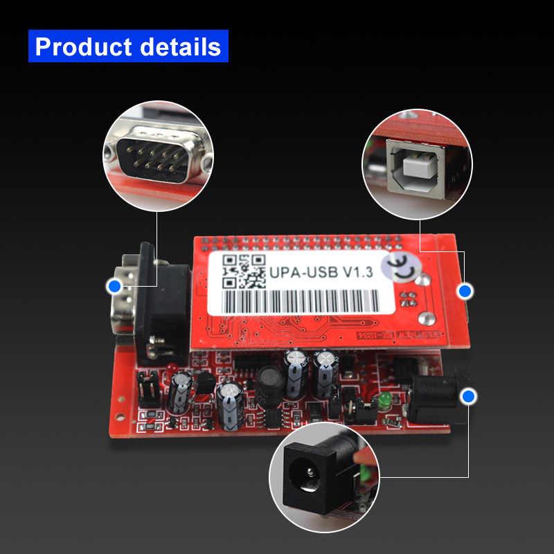 UPA Usb con 1.3 adattatore eeprom ECU Programmatore di Diagnostica-strumento di UPA-USB ECU Programmatore UPA USB V1.3 Con Adattatore Completo UPA