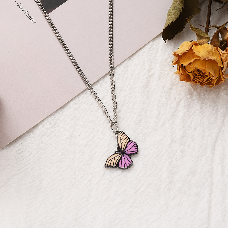 Stripe Pink Necklace