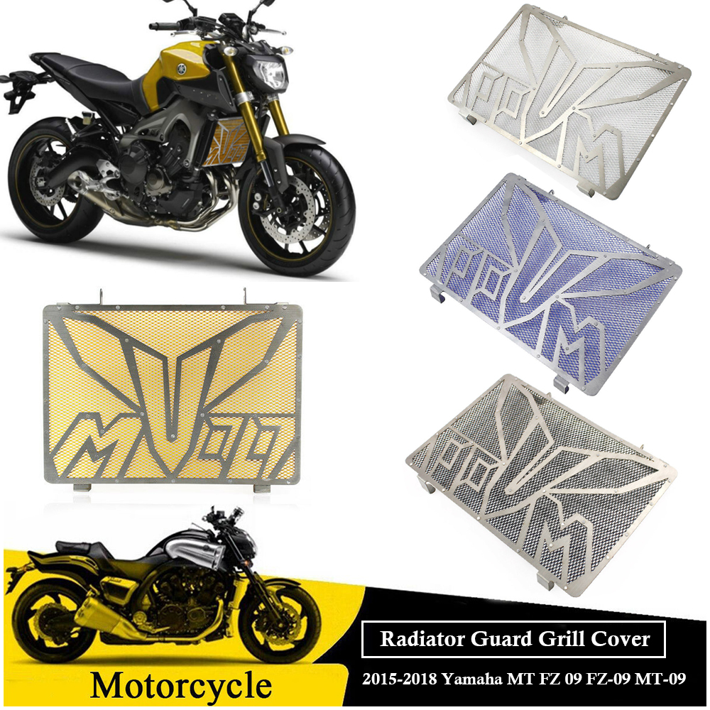 Motorcycle Radiator Guard Grill Grille Cover Side Protector for 2015 2016 2017 2018 Yamaha MT FZ 09 FZ 09 MT 09 FZ09 MT09 Parts