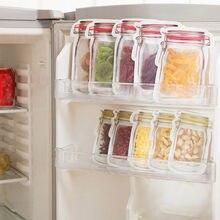 Sacs de Conservation Des Aliments frais, 10 pièces, Conservation au réfrigérateur, congélation Des Aliments, sac à Sandwich réutilisable # Y2
