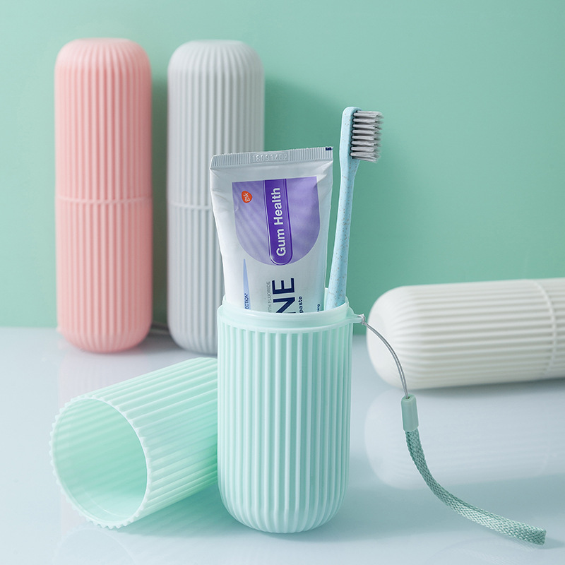 1Pc Toothbrush Storage Box Portable Toothbrush Holder Cover Toothpaste Case For Home School Travel Container New Arrival