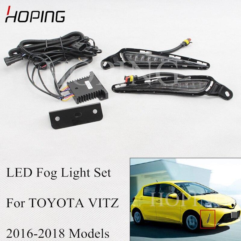 1Pcs Right Front Bumper Fog Lamp Light For Toyota RAV4 2016-2018