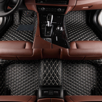 Custom Car Floor Mat For bmw f10 mercedes a180 accessories maxda cx 7 floor mats Car Leather Carpet Floor Mat Liner