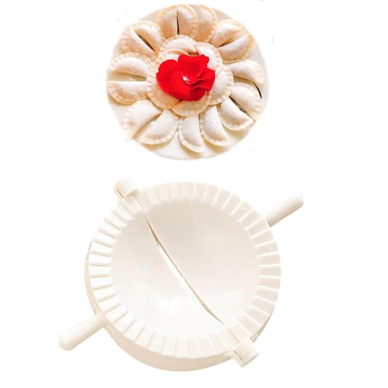 1PC Dumpling Mold Kitchen Accessories Plastic Flower Pattern Kitchen Practical Gadget Kitchen Making Apanese Chinese Dumplings