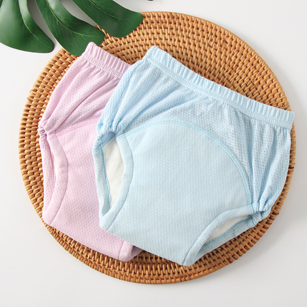 Baby Toilet Training Pants 3 Liners Cotton Potty Underwear Nappies For Toddler Boys Girls Kids Reusable Diapers Summer Pants