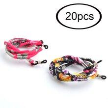 Atacado 20 pçs étnico óculos de sol pescoço corda cabo retentor cinta retro eyewear cordão titular 2 cores disponíveis