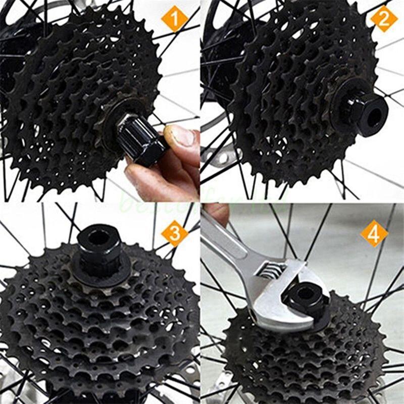 Bike Rear Cassette Cog Remover Cycle Hubs Repair Tool Freewheel Socket Shimano