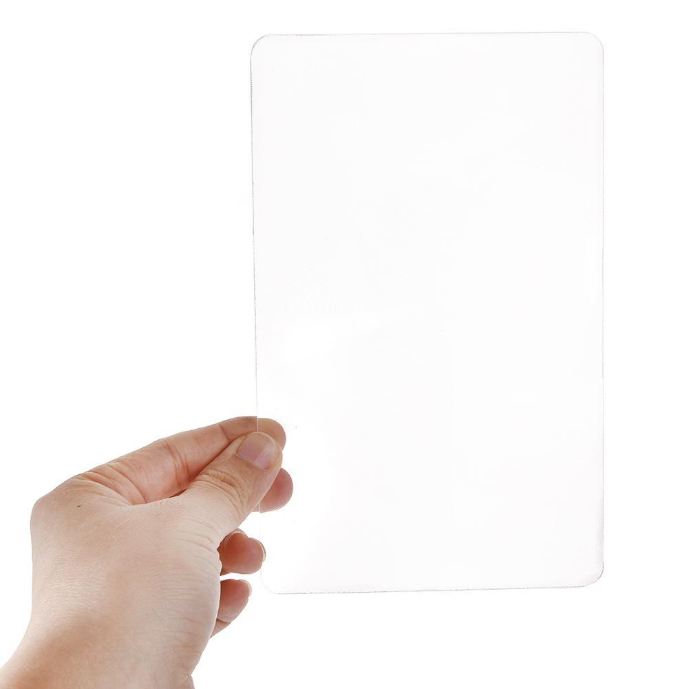 New Arrival 3X Magnification Magnifier XL Full Page Magnifying Sheet Fresnel Lens Wholesale Hot Search