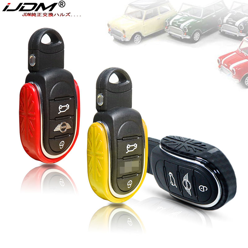 Aluminum Car Smart Key Case Cover For Mini Cooper F54 F55 F56 F57 F60 Countryman