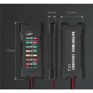 Image 3 - EDIAG BM420 Batterie Tester 12 ~ 24V Zigarette leichter Version Auto Digitale 6 LED Licht Lichtmaschine Auto Batterie Analyzer