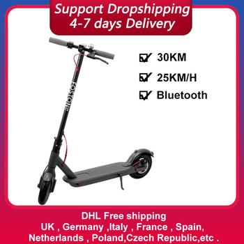 Electric Scooter With Bluetooth Connection 8.5 Inch Scooter IP64 Waterproof Scooters 30KM Elektroroller Adults Scooter Electrico scooter marvel spider man t58410 kick scooters foot scooters kick scooters foot scooters aprilpromo