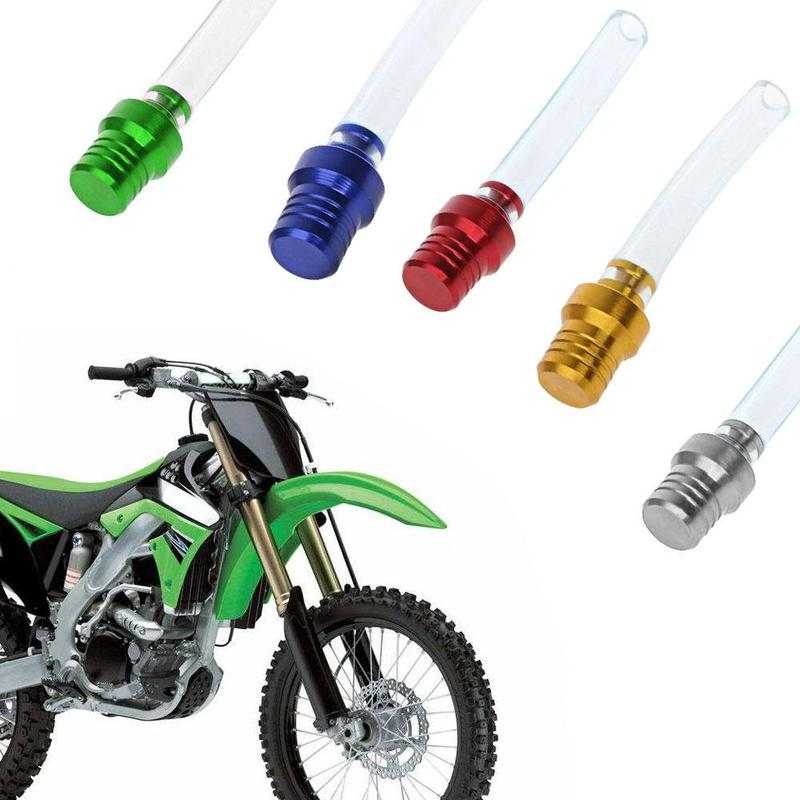 High Quality Motorcycle Pressure Reducing Valve Two-way Breather Fuel Tank Breather Pipe Hose Fuel Tank Ventilation Valve