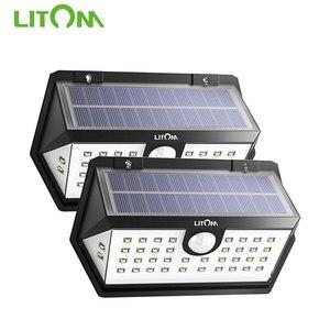 2 Pack Litom CD168 40 LED Sola