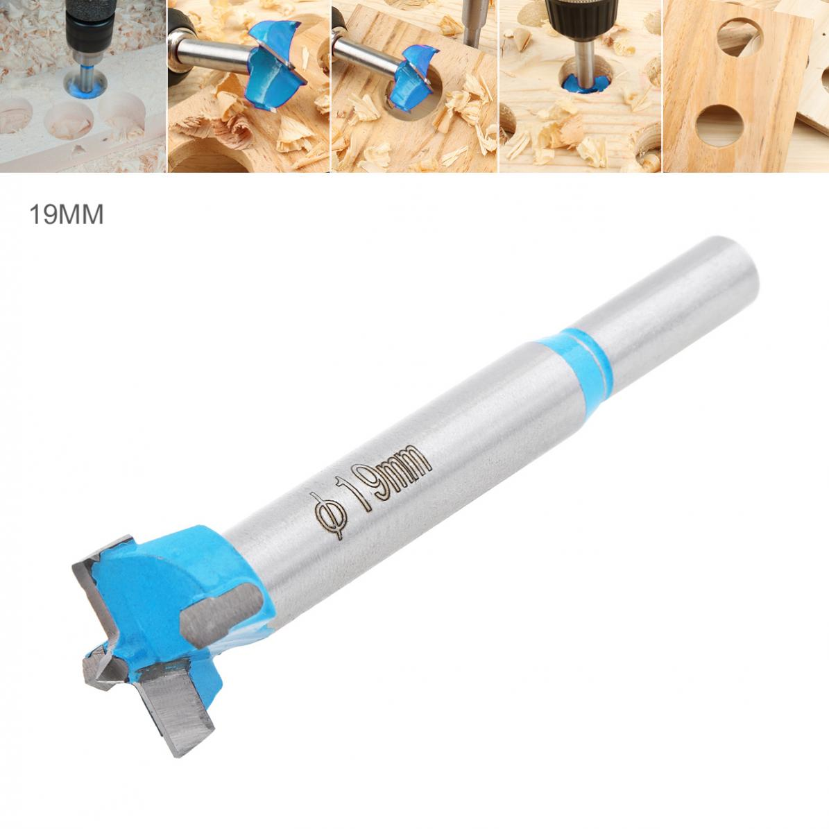 Drill Bits 19mm Hole Saw Wood Cutter Woodworking Tool for Wooden Products Perforation