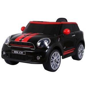 12В электрический мини PACEMAN Дети ездить на автомобиле лицензированный R/C Пульт дистанционного управления MP3 Черный