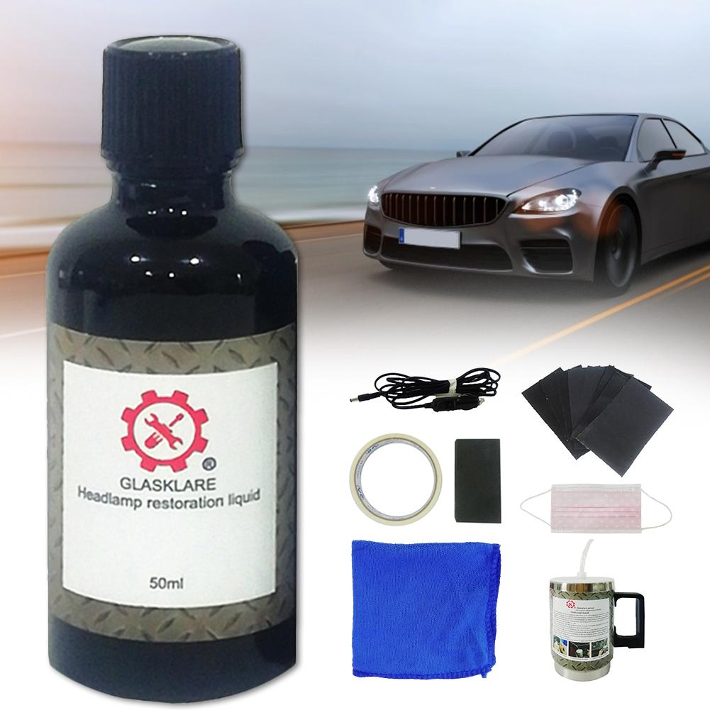 Car Headlight Repair Kit Headlight Refurbished Bright Headlight Repair Liquid Coating Agent Car Maintenance Car Light Polish