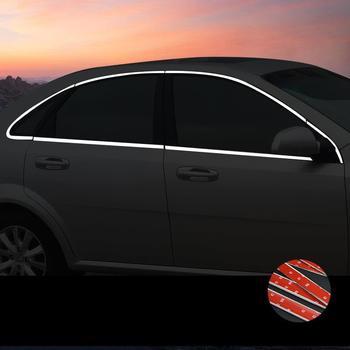 Raam Deur Automobile Decoratieve Gemodificeerde Chroom Auto Styling Protecter Decoratie Sticker Strip 15 16 17 18 Voor Buick Excelle