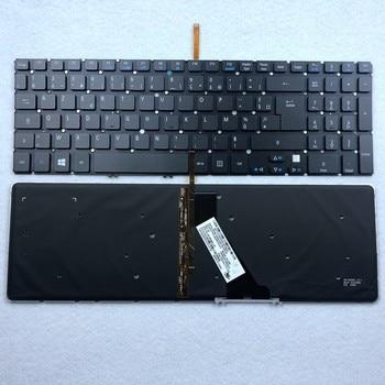 French Canada Italian UK Backlit Keyboard For Acer Aspire V5 V5-531 V5-531G V5-551 V5-551G V5-571G V5-571P V5-571PG V5-531P азбука книга изд азбука заколдованная элла ливайн г к 352 ст