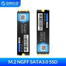 ORICO M.2 SATA SSD 128GB 256GB 512GB 1TB M2 NGFF SSD M.2 2280 mm dahili katı hal sabit disk masaüstü Laptop için