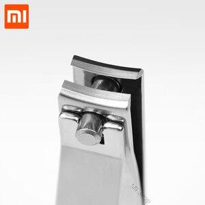 Image 2 - Xiaomi Huohou สแตนเลสเล็บ Clipper 5pcs จมูกผม Trimmer แบบพกพาชุดสุขอนามัยสแตนเลสตัดเล็บชุดเครื่องมือ
