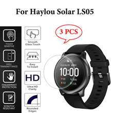Tempered Glass Film For Haylou Solar LS05 Screen Protector Full Coverage HD Clear Film Cover For XiaoMi Haylou Solar SmartWatch