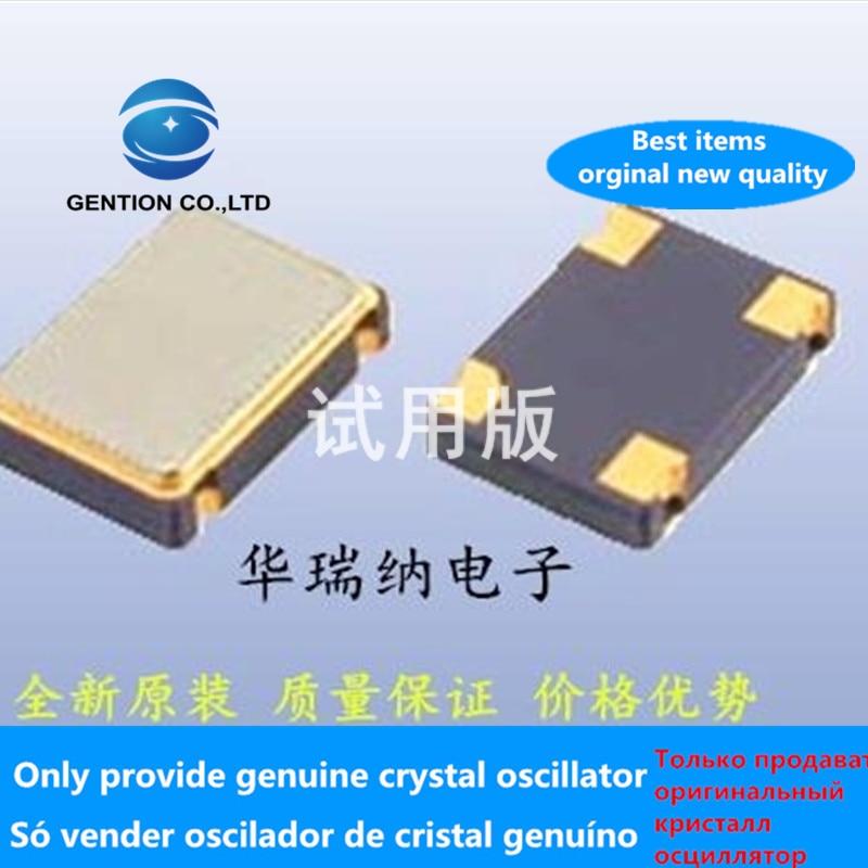 5pcs 100% New And Orginal Oscillator Active Chip Crystal OSC 5X7 5070 17.734M 17.7344MHZ 17.734MHZ