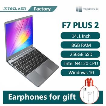 Laptop Teclast F7 Plus 2 Window 10 1920×1080 Intel Gemini Lake N4120 14.1 Inch 8GB RAM 256GB SSD Ac Dual-Band WiFi Notebook 1