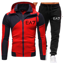 Men's Hoodie Fashion Sportswear Running Casual Sportswear Running Sportswear Sports Shirt + Pants​