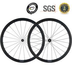 SUPERTEAM 700C koła węgla 38mm z DT240 centrum wyścig rowerów koła rowerowe Clincher 25mm szerokość
