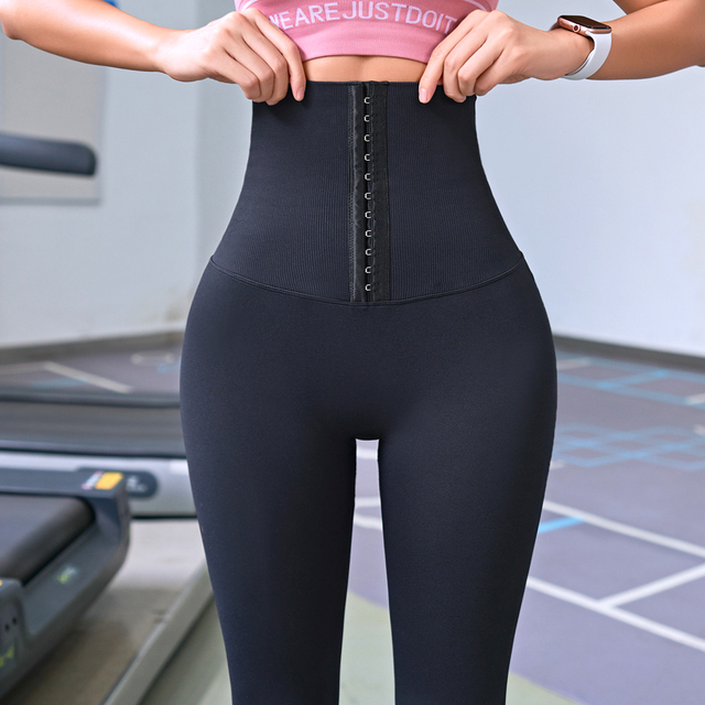 2020 Yoga Pants Stretchy Sports Best Black Leggings High Waist Compression Tights  Push Up Running Women Gym Fitness Leggings 1