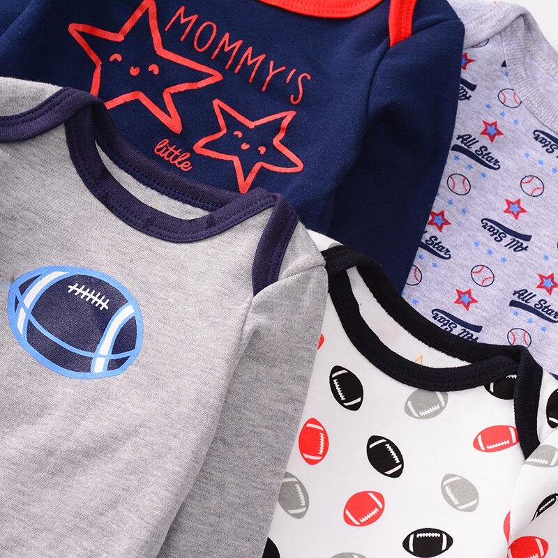 Image 5 - Baby Cotton Rompers Infnat Long Sleeve Clothes Kids Bodysuit Cute Cartoon Pattern Jumpsuit Newborn Clothing Unisex 0 12MonthsBodysuits   -