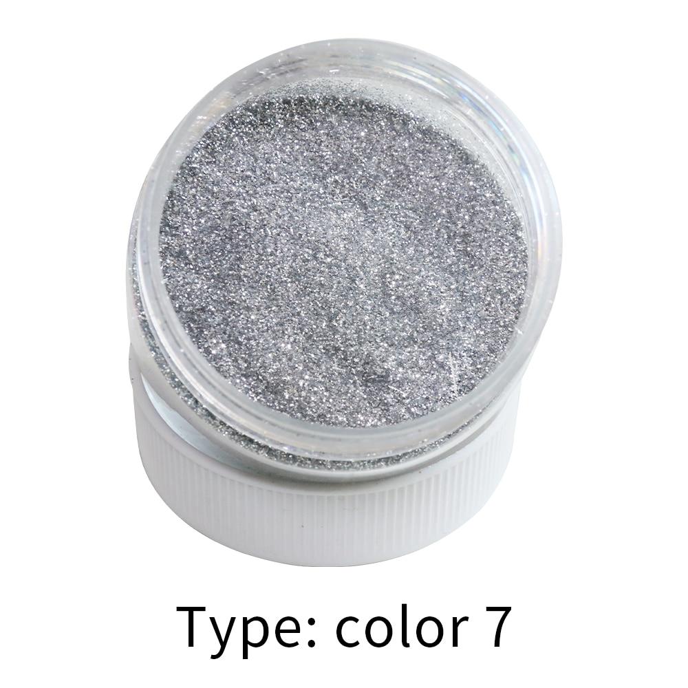 Silver Glitter Powder 50g Glitter Dust For Nail Decoration Manicure Nail Polish Soap Arts Crafts Pearlescent Mica Powder Pigment