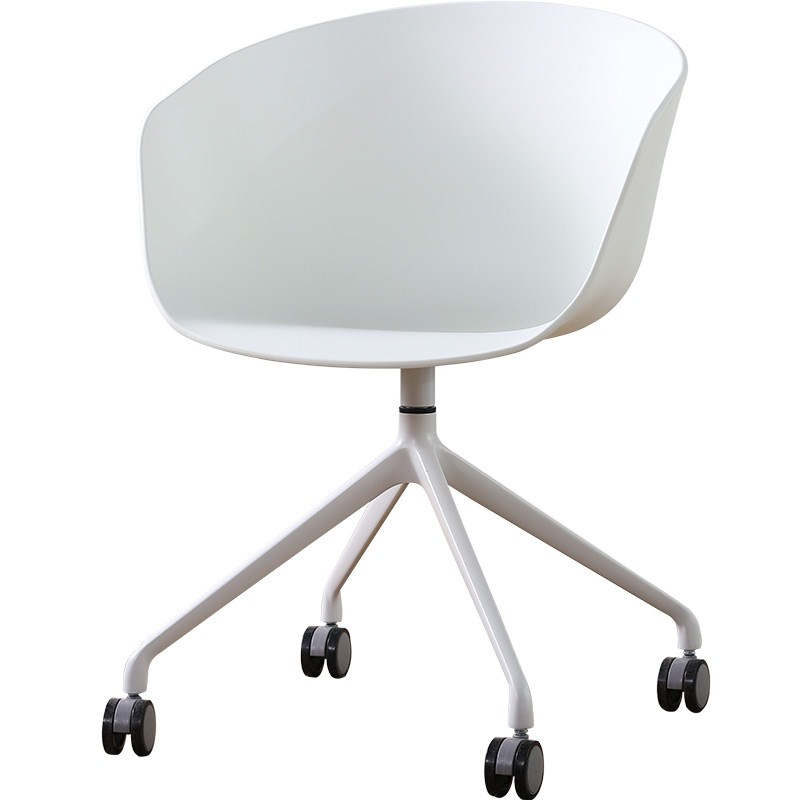 Nordic Computer Chair Wheel Swivel Chair Study Home Fashion Rotating Multifunctional Creative Office Chair Modern Simplicity