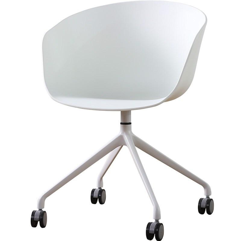 Nordic Computer Chair Wheel Swivel Chair Study Home Fashion Rotating Multifunctional Creative Office Chair Modern Simplicity