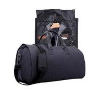 Men's Large Travel Bag Handbags Duffel Bag Business Packing Cubes Laptop Bags Oxford Luggage Bag Sets Suit Garment Bag Carrying