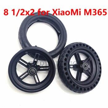 8.5 インチ xiaomi mijia M365 電動スクーター後輪インナーチューブ、外側のタイヤ 8 1/2 × 2 ソリッドタイヤ空気圧ホイールリム