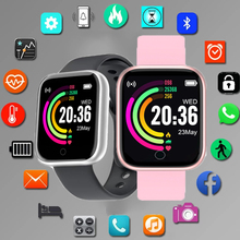 Kids Watches Color Screen Children For Girls Boys Sport Bracelet Child Wristband Fitness Tracker Custom wallpaper Waterproof