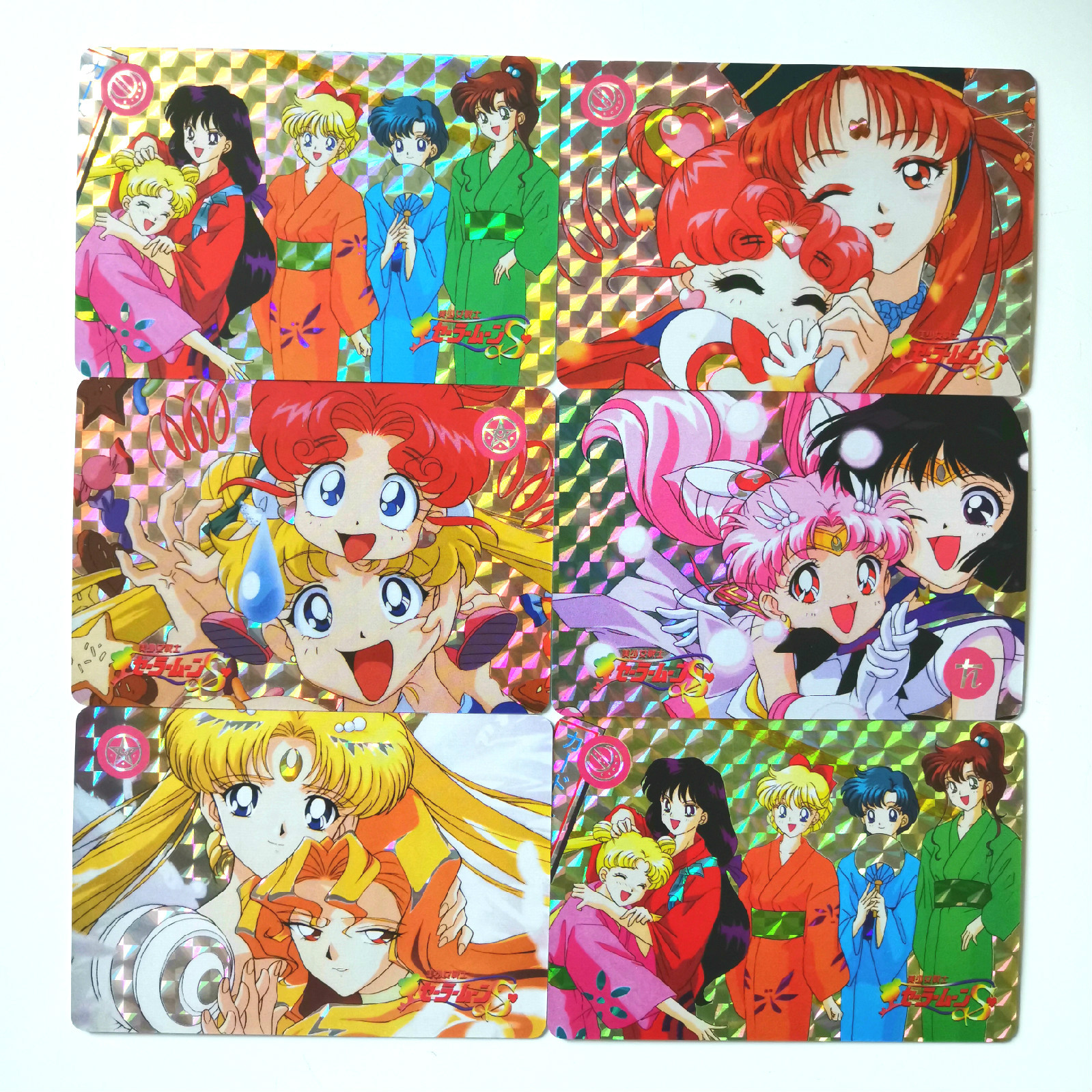 55pcs/set Sailor Moon Toys Hobbies Hobby Collectibles Game Collection Anime Cards